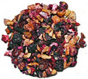 Lady's Hannah's Whole Fruit Tea Leaves