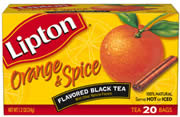 Lipton Orange Spice Flavored Black Tea